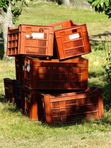 Crates ready....