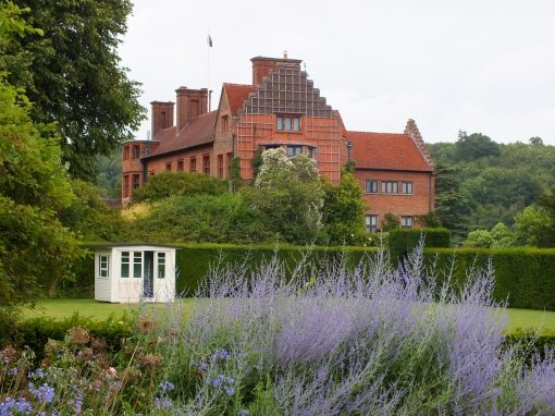 The house from the croquet lawn
