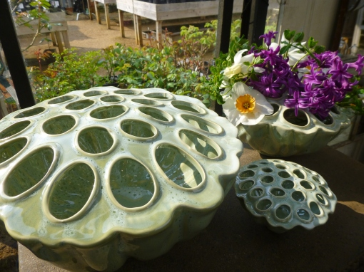 Lotus flower vases