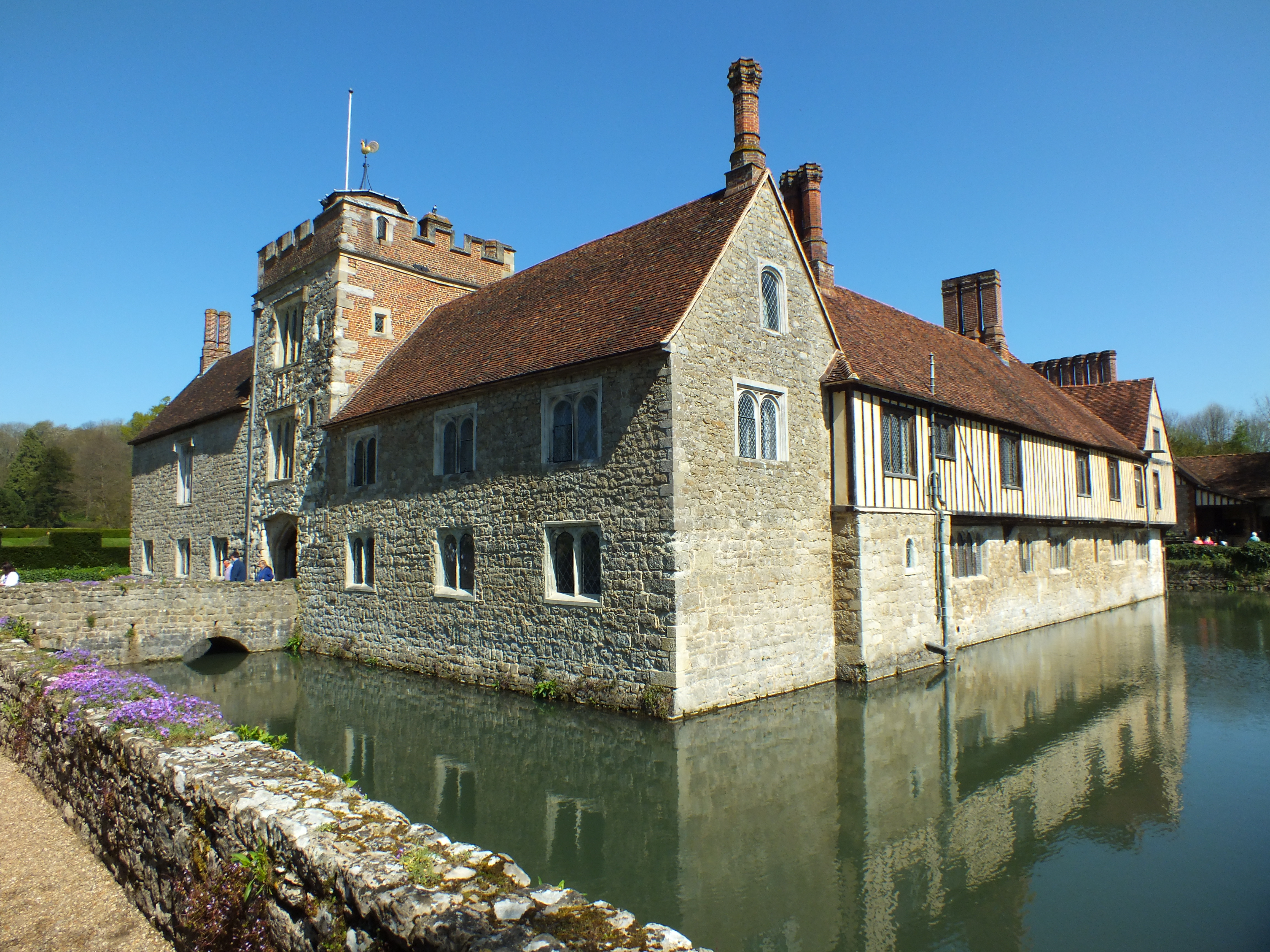 Ightham Mote A Perfect House In A Beautiful Setting