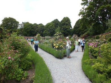 The second walled garden