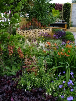 Mixed shade border