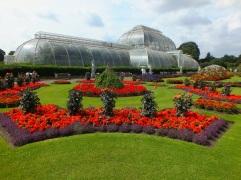 kew gardens bedding bright bold middsummer