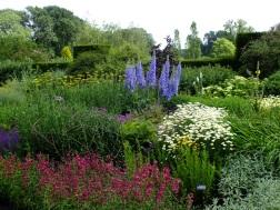waterperry gardens mixed border