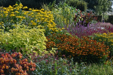 and back to the Long Herbaceous Borders
