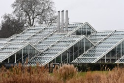 The Princess of Wales Conservatory from across the Grass Borders