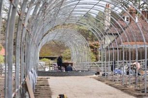 The new Wisteria Arches