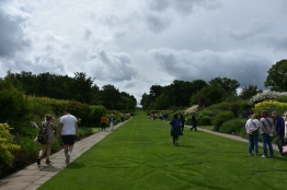 The double herbaceous borders